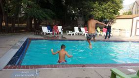High jump, low jump Royalty Free Stock Photo