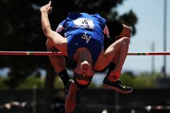 High Jump, Track, Field Royalty Free Stock Image
