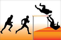 High Jump Vector Stock Images
