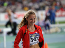 High jumper Alexandra Plaza from Germany Stock Photos