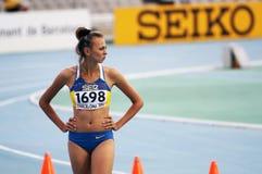 High jumper Iryna Gerashchenko Royalty Free Stock Photo
