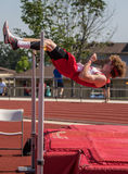 High Jumper Royalty Free Stock Image