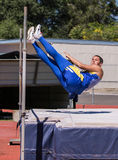 The High Jumper Royalty Free Stock Photo