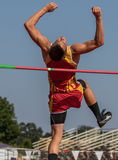 High Jumper Stock Photos