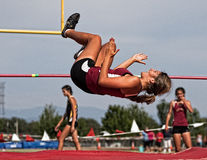 High Jumpers Stock Photography