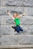 High jumping Royalty Free Stock Photo