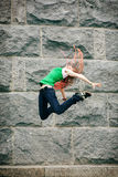 High jumping Royalty Free Stock Photography
