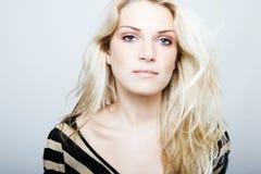 High-key beauty portrait Royalty Free Stock Image