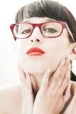 High-key fashion portrait Stock Images