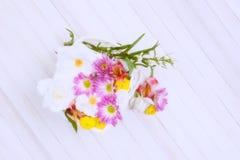 High Key Flower Basket Royalty Free Stock Image