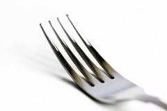 High key fork Royalty Free Stock Photography