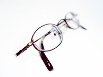 High Key Glasses royalty free stock photography
