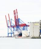 High Key Malaga Port Royalty Free Stock Images