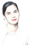 High-key portrait 3. Stock Images