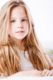 High key portrait of a child royalty free stock photo