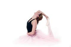 High key Pretty ballerina Stock Photos