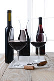 High Key Wine Still Life Royalty Free Stock Photography