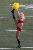 High Kick. Event:  2014 ProBowl Wam-up 25.I.14 Stock Photo