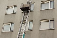 High ladder Stock Photography