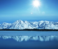 High lake Stock Photo