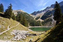 High lake Soiernsee in Alps Stock Photos