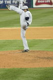 High Leg Kick Pitcher Stock Photos