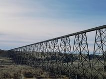 High Level Bridge Lethbridge, Alberta Royalty Free Stock Photos