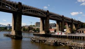 High Level Bridge. Royalty Free Stock Photography