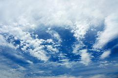 High Level Clouds Stock Photography