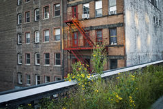 High Line Apartments Stock Photo