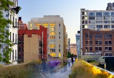 High Line in New York Stock Image