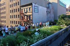 The High Line, New York City Royalty Free Stock Photos