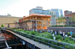 The High Line, New York City Stock Image