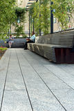 High Line.  New York City. Elevated pedestrian Park Stock Image