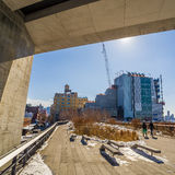 The High Line in New York City. Stock Photography