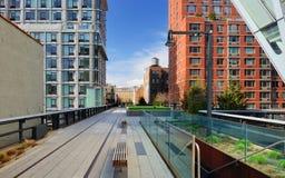 High Line New York City. High Line Park in New York City Stock Photos