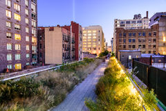 High Line in New York Stock Photo