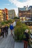 High Line New York Stock Photos