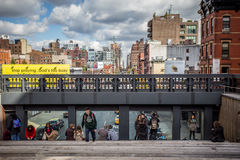 The High Line NYC Royalty Free Stock Photos