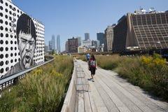 High Line Park Stock Photos