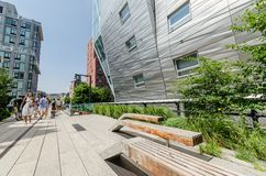 Free High Line Park Royalty Free Stock Photo - 43528975