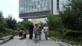 The High Line park Royalty Free Stock Photos
