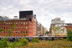 High Line Park Chelsea, New York Stock Images