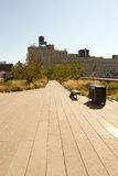 High Line Park in Chelsea, New York Royalty Free Stock Image
