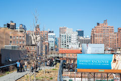 The High Line Park Royalty Free Stock Photo