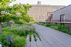 High Line Park, New York Stock Photos