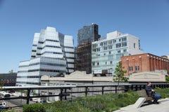 High Line Park in New York City Stock Photos
