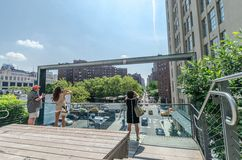 High Line Park Royalty Free Stock Photos