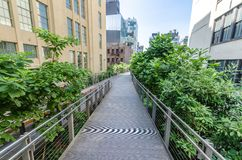 High Line Park Royalty Free Stock Images