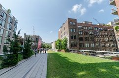 High Line Park Royalty Free Stock Photography